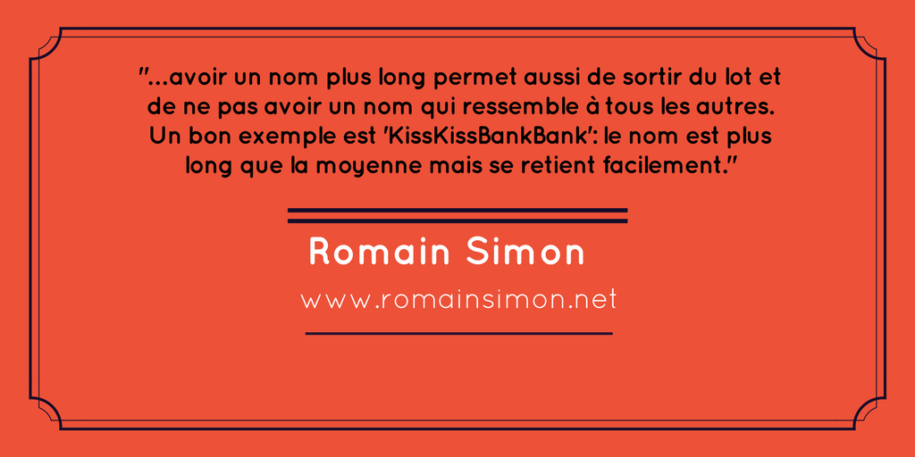 nom entreprise long romain simon