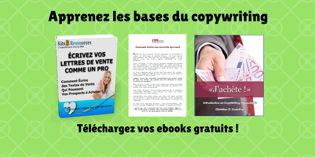 textes de vente ebooks gratuits