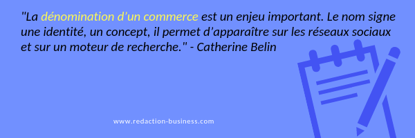 rédaction decalee enseigne citation Catherine Belin